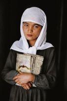 School Girl in Herat, Afghanistan:
