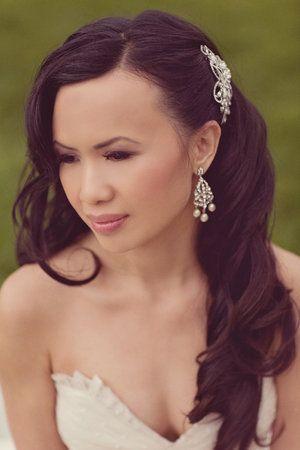 Hair Wedding Hairs And Hair Combs On Pinterest