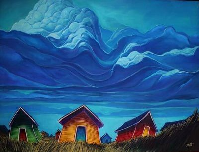 Newfoundland Art And Adam Young On Pinterest