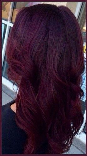 1000 Ideas About Wine Colored Hair On Pinterest Wine