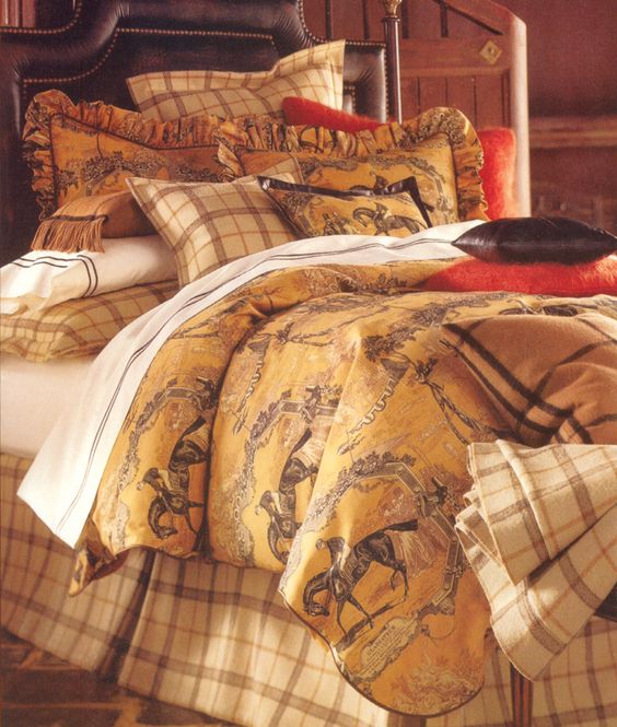 Equestrian Bedding And Linens On Pinterest