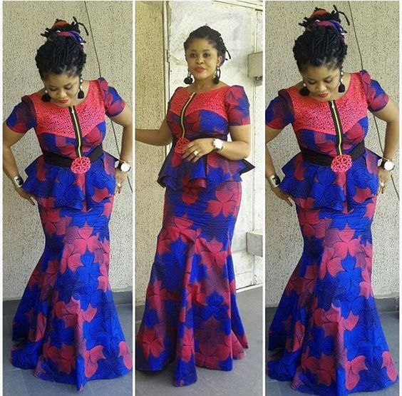 15 Latest Ankara Skirt And Blouse Styles 2017 Fashion Nigeria