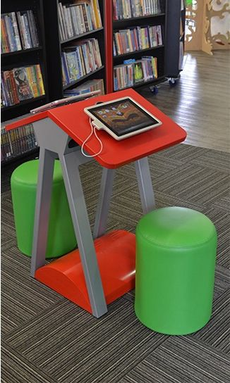 IPad Table Dedicated For Use By Children Short Table And