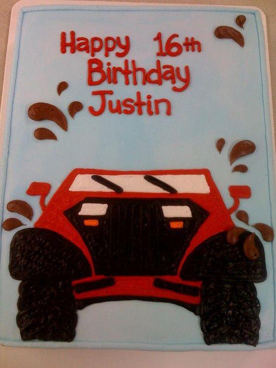 Jeeps Birthday Cakes And Birthdays On Pinterest