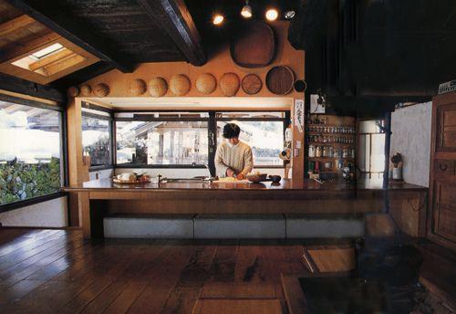 traditional japanese farmhouse different level kitchen eating farmhouse pinterest on kitchen interior japan id=70894