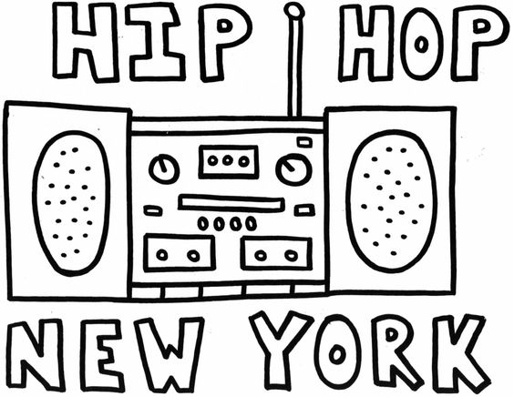 hip hop coloring pages  growing learning and having fun