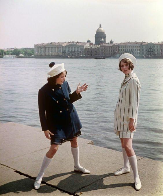 60-as évek divatja: lányok a Szovjetunióból