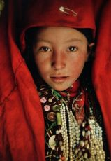 "Afghanistan | Portrait of Kyrgyz girl. | ©Matthieu Paley. ""Forgotten on the Roof of the World - Afghanistan's Pamir. 