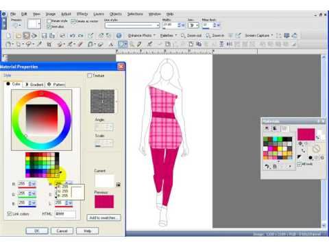 Digital Fashion Pro fashion design software Apps and