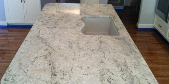 White Ice Granite Like This Slab But Others Have Too Much