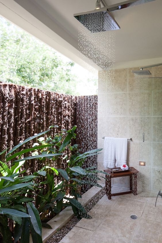 Belize Outdoor Showers And Resorts On Pinterest