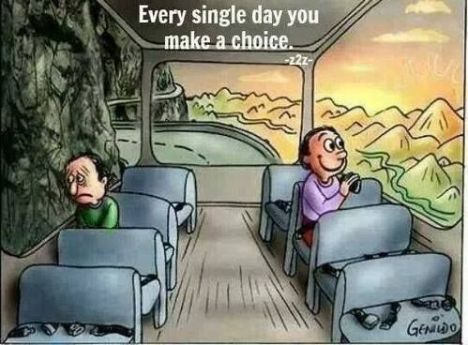Image result for everyday you have choice