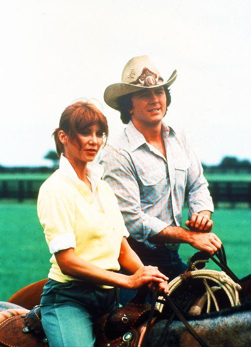 Pam and Bobby   Dallas - 1978-1991   Pinterest   Saddles ...