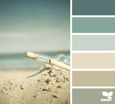 EMILY | you said that you were tired of your family area colors? this is a GREAT website for inspiration. as you know, i love monochromatic or muted color combinations and this is one that would be great in your home. reminds me of cannon beach + works really well with your exterior.: