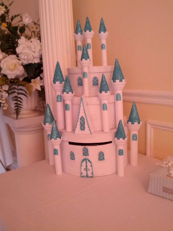 Cinderellas Castle Inspired Card Box Made By My Sister