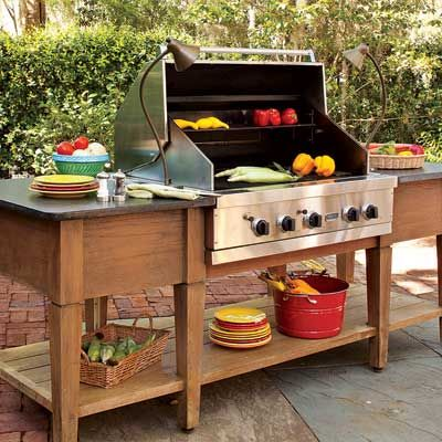 cook up a great outdoor kitchen outdoor ideas islands and teak on outdoor kitchen island id=25715