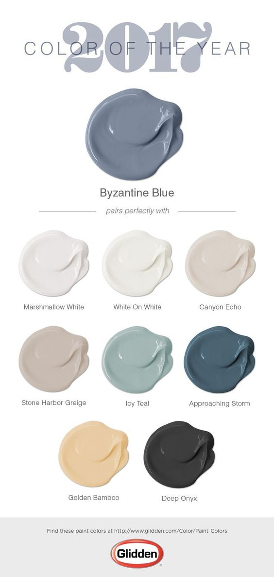Glidden 2017 paint color of the year