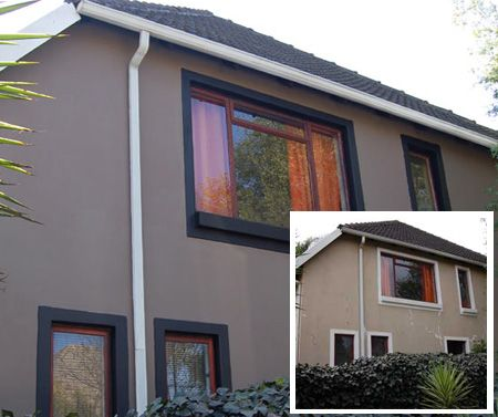 Exterior Paint Colours And On House Photos South Africa