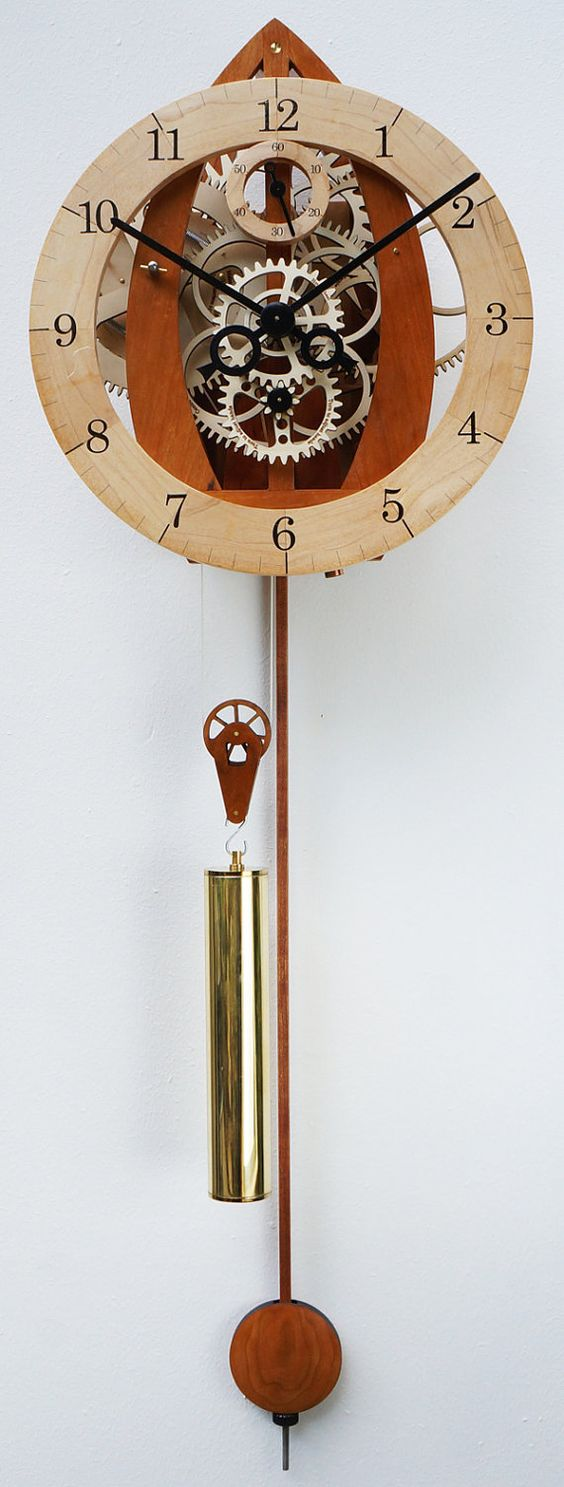 wall clocks wooden walls and skeletons on pinterest on wall clocks id=81981