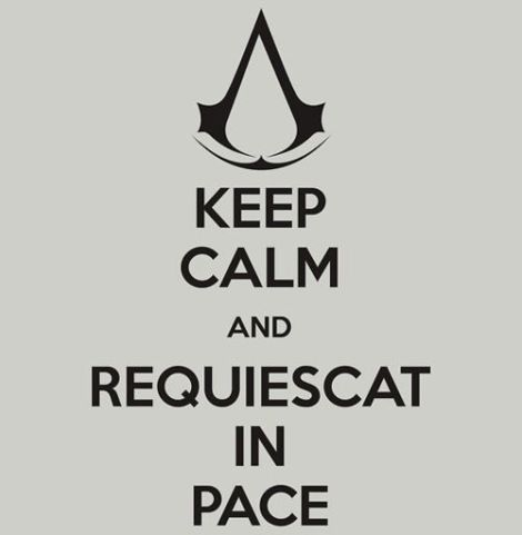 Image result for assassin's creed assassination rest in peace