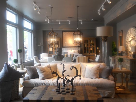 Restoration Hardware Living Room Grey Inspiration Pinterest Hardware The Ojays And Pillows