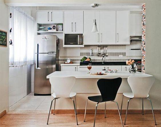 decoração de cozinha sala