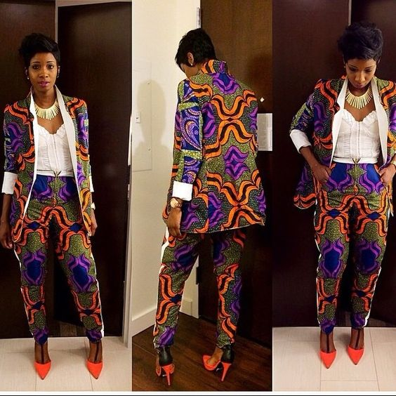 Creative Ankara Style Design for Ladies http://www.dezangozone.com/2016/07/creative-ankara-style-design-for-ladies.html: