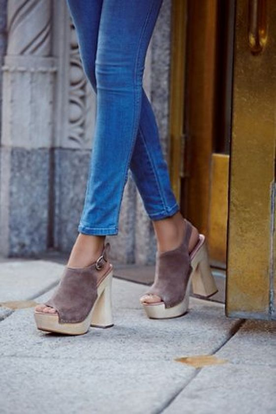 Jeffrey Campbell + Free People Sweet Jane Platform Clog at Free People Clothing Boutique: