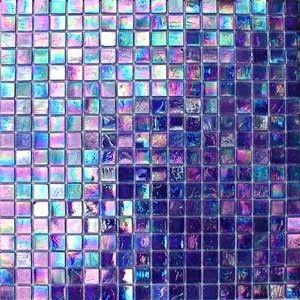 iridescent tile tile and mosaic tiles on pinterest on kaboodle kitchen navy id=68063