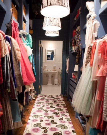 Sarah Jessica Parker's closet in Sex and the City