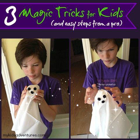 Three Magic Tricks Your Kids Will Love Performing | Magic ...