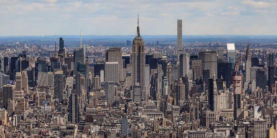 Manhattan Midtown skyline