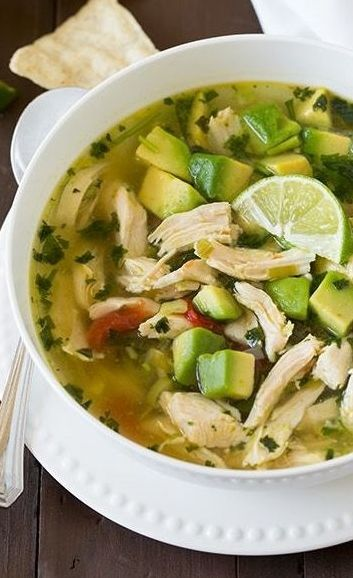 Cilantro, Soups and Cheese on Pinterest
