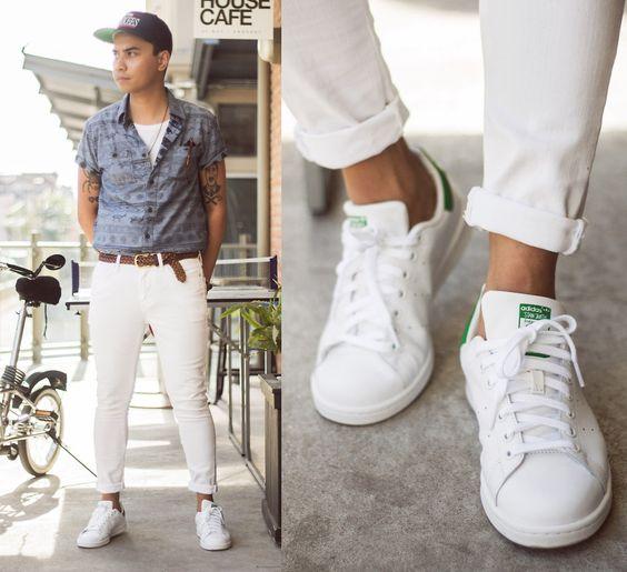 30代メンズにおすすめ春夏に絶対履きたくなる白スニーカー