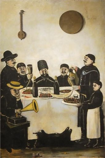 ART & ARTISTS: Niko Pirosmani: