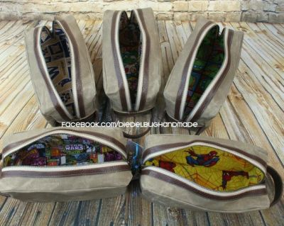 FREE Toiletry Bag Sewing Pattern: 11 Handmade Gifts for Dad