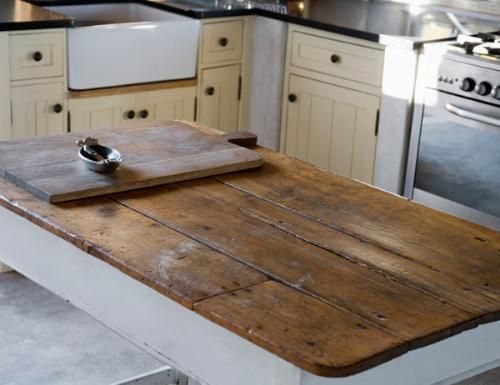 Reclaimed And Rustic Make Your Kitchen Stand Out By