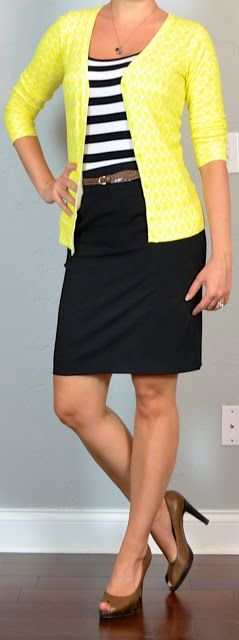 Yellow Office Attire