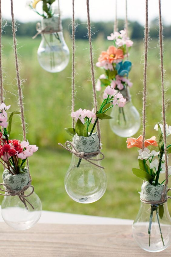 A seriously charming display for your favorite blooms.: