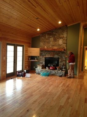 cabin paint colors interior paint color for log cabin on interior wall colors ideas id=79999