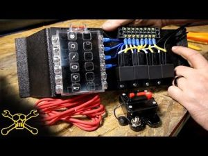 How To Make A Power Relay  Fuse Block | Automotive Wiring