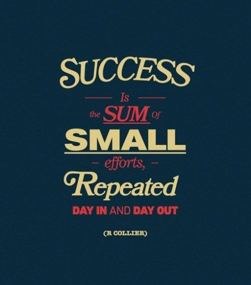 Persistence pays.: