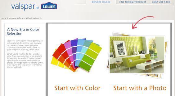 valspar color visualizer when i have a home pinterest on valspar virtual paint a room id=97000