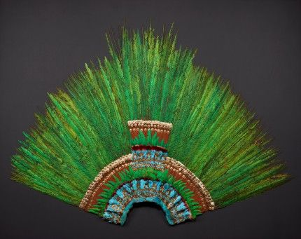 Monteczuma's Last Remaining Headdress