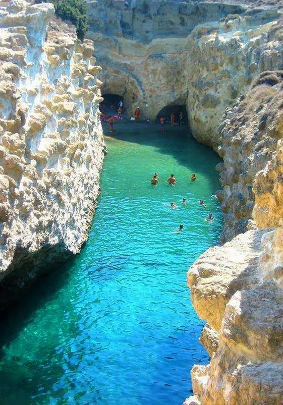 Papafragas Beach Milos Island, Greece: