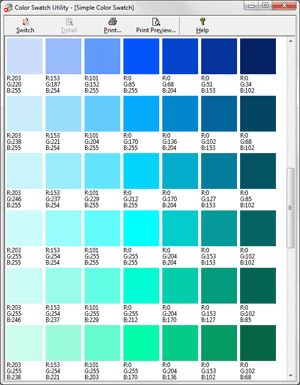 Turquoise Color Palette Rgb Google Search Sketchbook