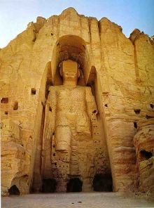 Buddha of Bamiyan Valley, Afghanistan: