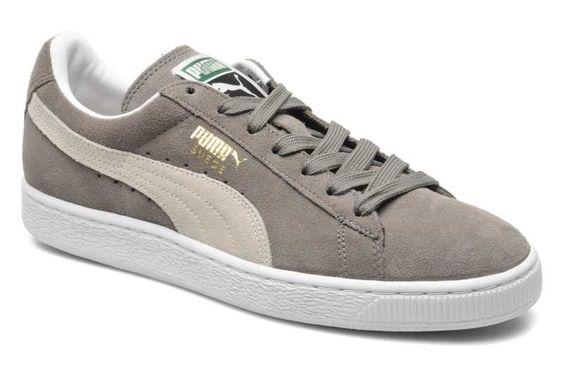 Puma Suede Classic Trainers In Grey