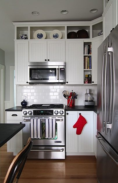 open cabinetry trim added above existing cabinets to take them to the ceiling diy house on kitchen cabinets to the ceiling id=96154