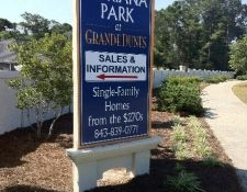 New Homes for Sale Myrtle Beach - Signage 4 years…